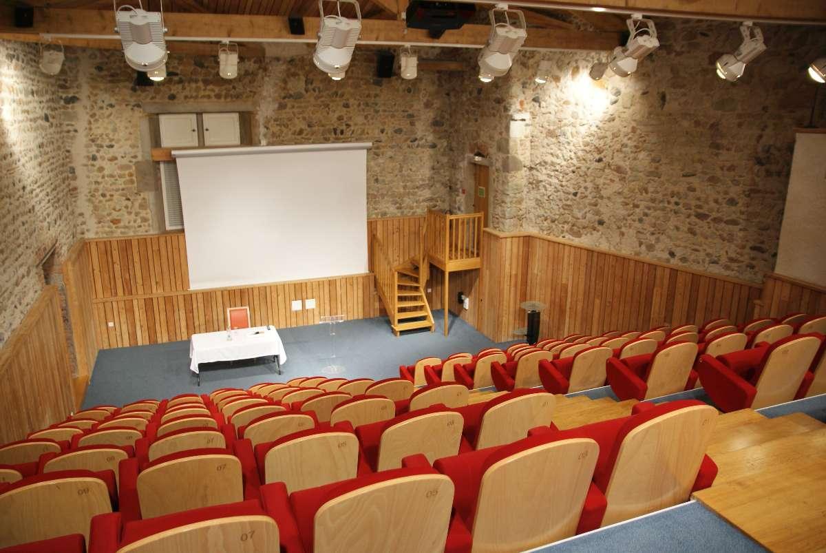 Auditorium Château de Bouthéon Loire