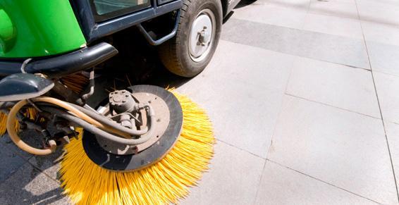 Nettoyage - Sol, extérieur, pavage