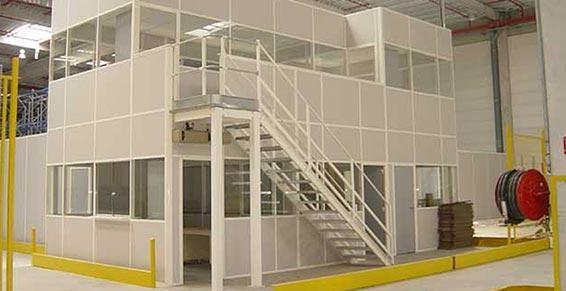 Merial - Équipements de stockage - Toulouse - Plateforme bureaux