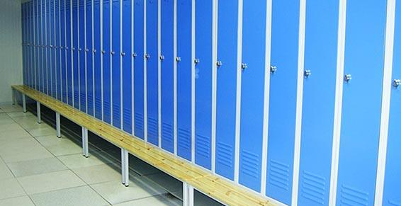 Rayonnage - Vestiaires - Casiers - Bancs