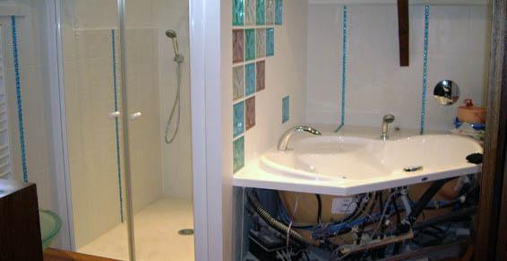 Création de salle de bain clé en main
