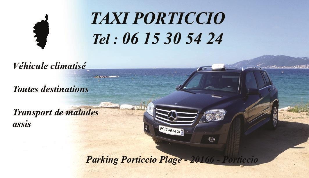 Taxi Porticcio est basé à Porticcio, en Corse-du-Sud