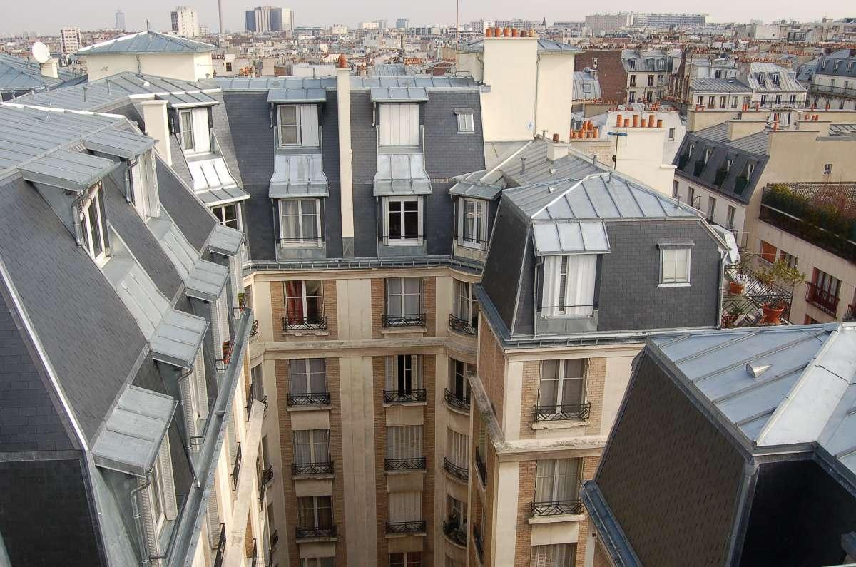Réfection complète de couvertures rue Clairaut Paris 17ème