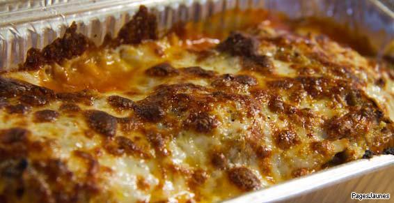 Chez Trismegiste Pizzas, délicieuses lasagnes faites maison