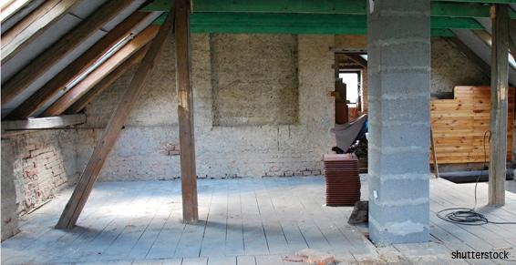 Rénovation immobilière combles