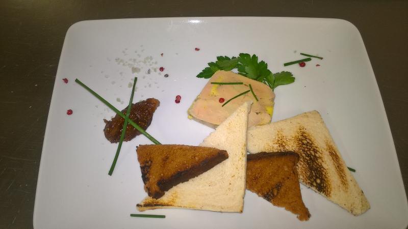 Foie gras de canard fait maison