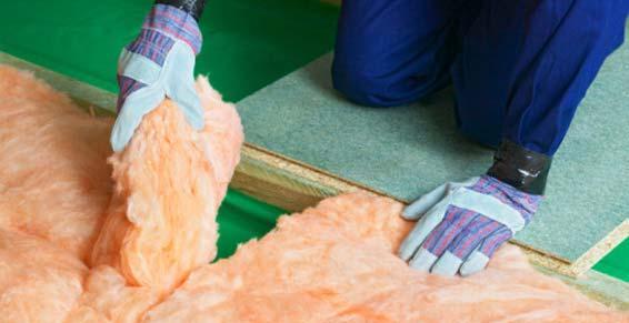 Nuance - Travaux isolation - Lancrans - laine de verre