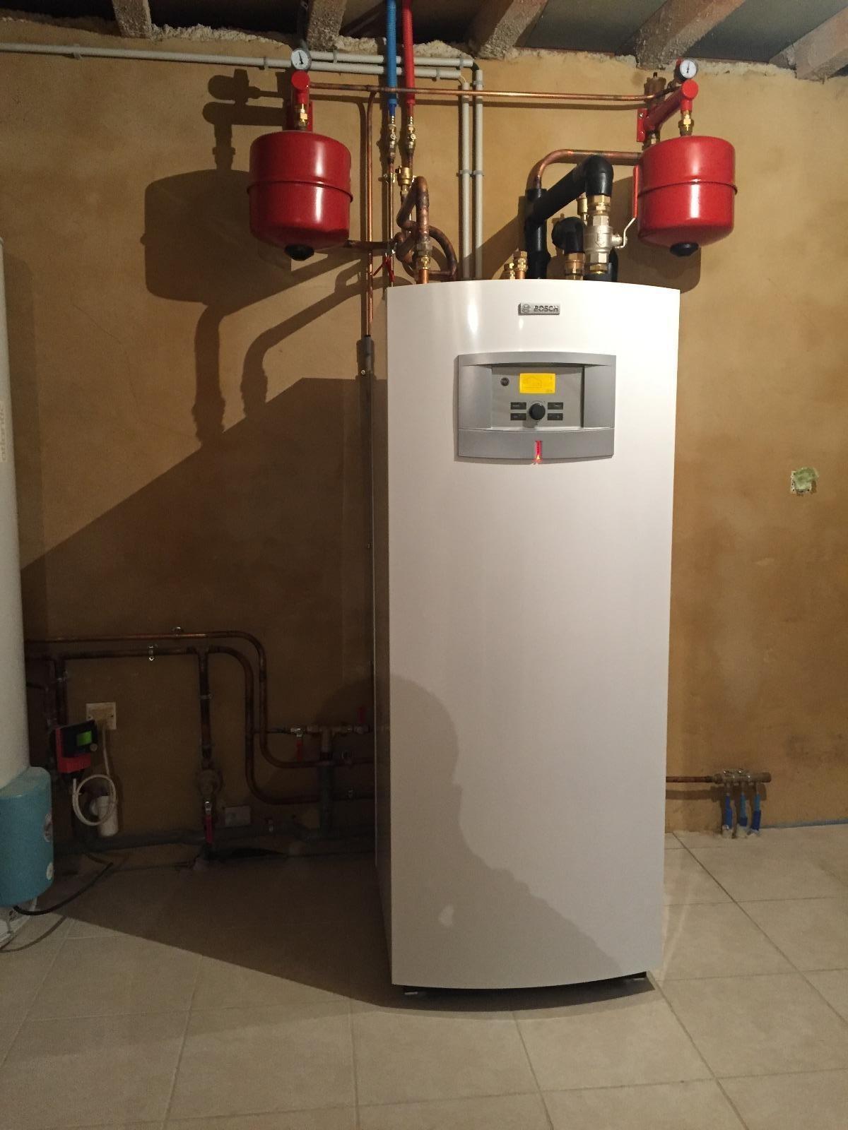 Pompe à chaleur Géothermique Bosch