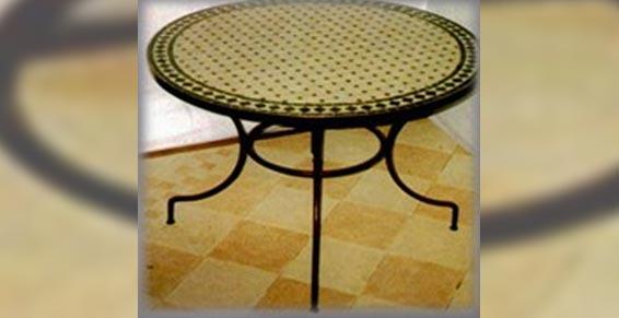 Midi Métal - Ferronnerie d'art - table