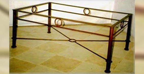 Midi Métal - Ferronnerie d'art - table basse