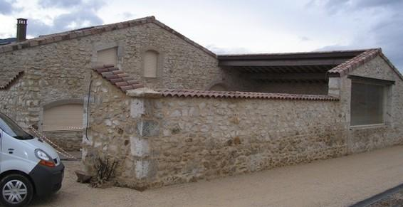 Réhabilitation d'une bâtisse en pierre
