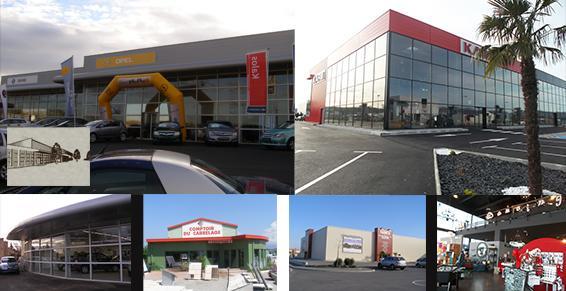 Bâtiments industriels et commerciaux