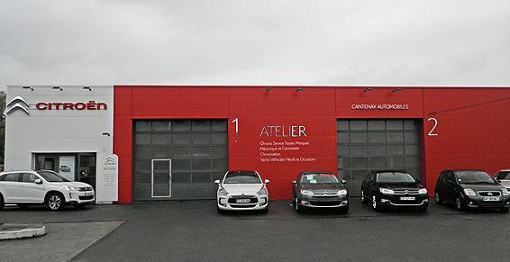 Cantenay Epinard - Garages automobiles