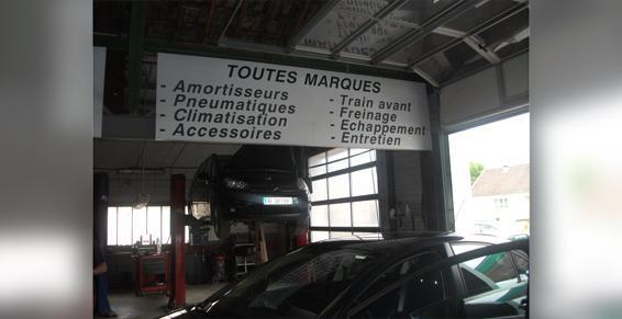 Garage Chauffert SARL à Courtisols - Garages automobiles