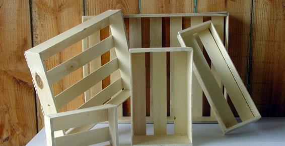 Fabrication caissettes bois - Bourg en Bresse