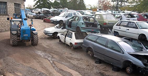 Une casse pour vos pièces automobiles d'occasion.