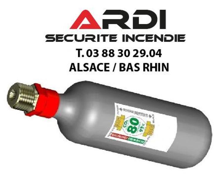 cartouche désenfumage co2 Ardi sécurité incendie