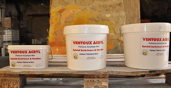 Peinture acrylique mat Peintures Mont-Ventoux