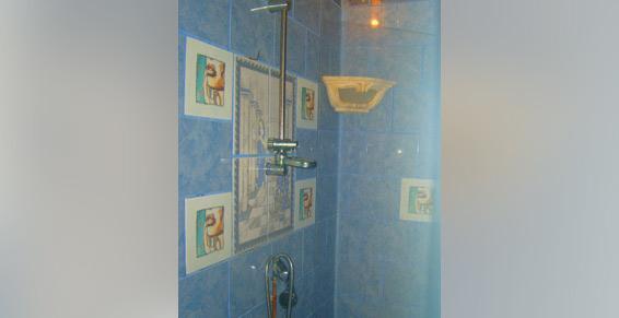 Secrets de Beauté à Basse-Terre, cabine de douche, hygiène.