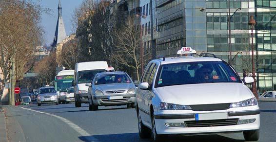 taxis - les taxis en ville