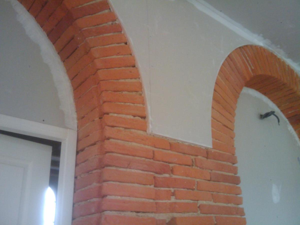 Rénovation sur des briques foraines