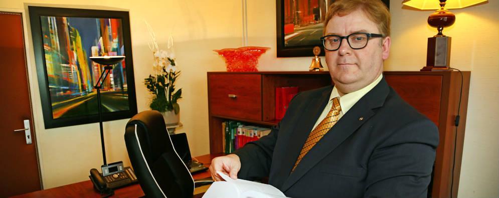 Thierry Lejeune, avocat à Bruay-la-Buissière.