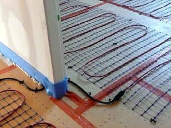 Bocage Électricité Installation de plancher chauffant
