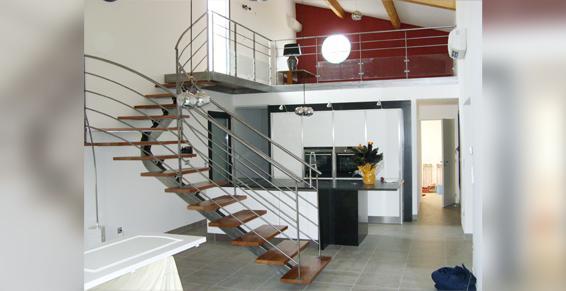 Ferronnerie Raynal à Lunel - Escaliers