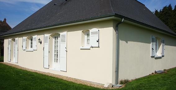 Ravalement de tous types de façades en Normandie