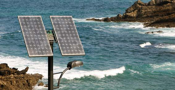 énergies renouvelables - éclairage public