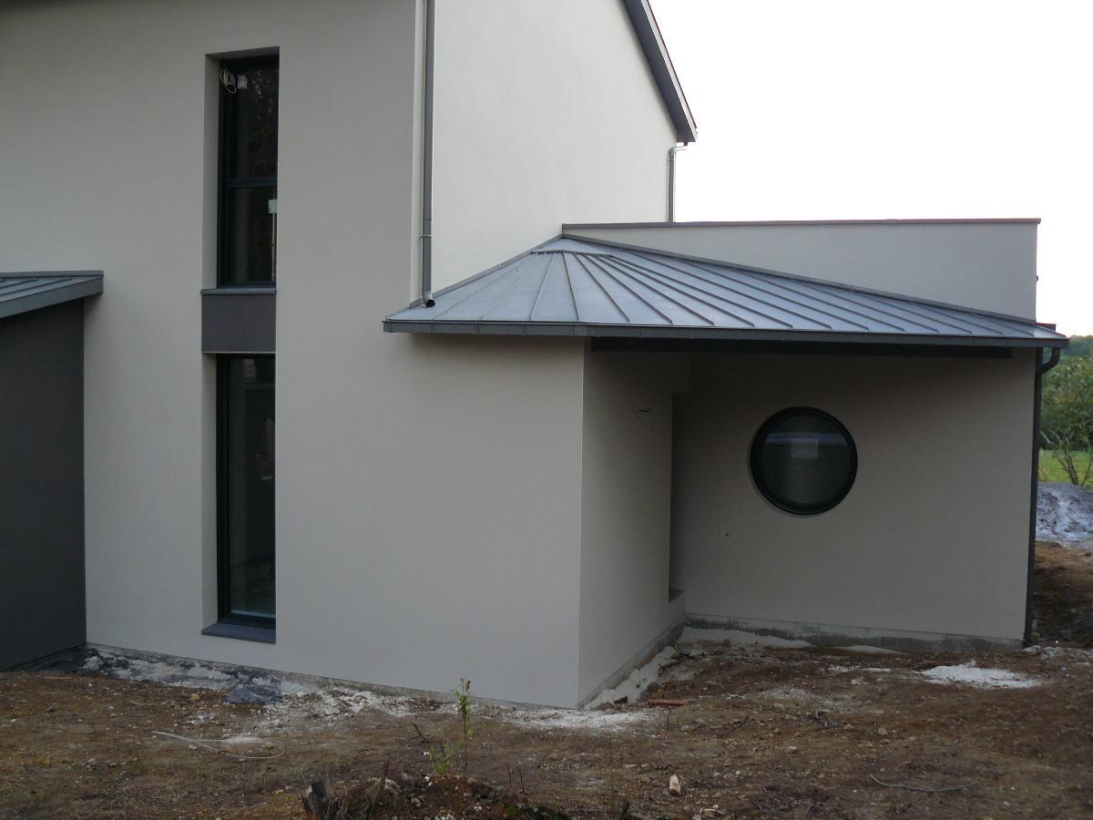 maison neuve - charpente- menuiseries extérieures alu - Treillières