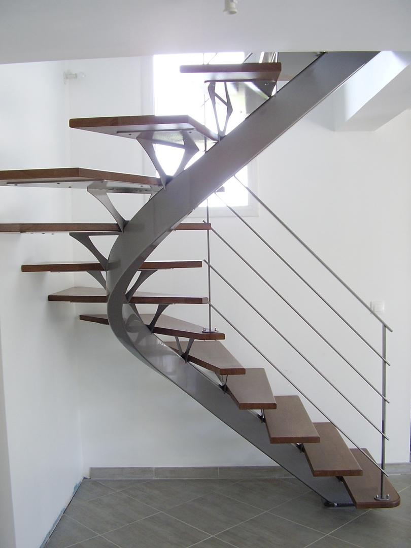 Alpha Métal, des escaliers contemporains ou classiques