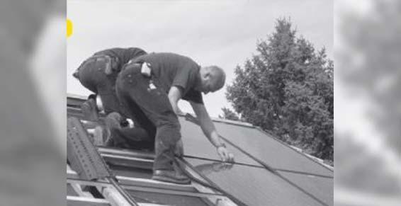 Électricité - Installation panneaux solaires