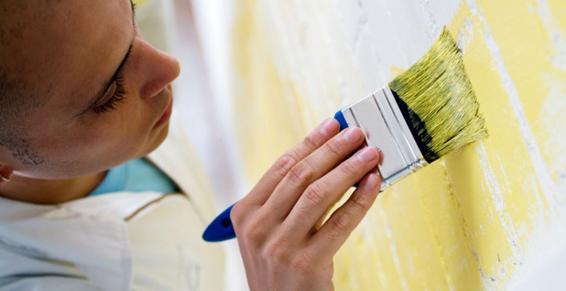 peinture, revêtements - repeindre un mur