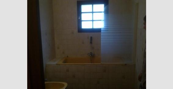 Salle de bain avant rénovation complète