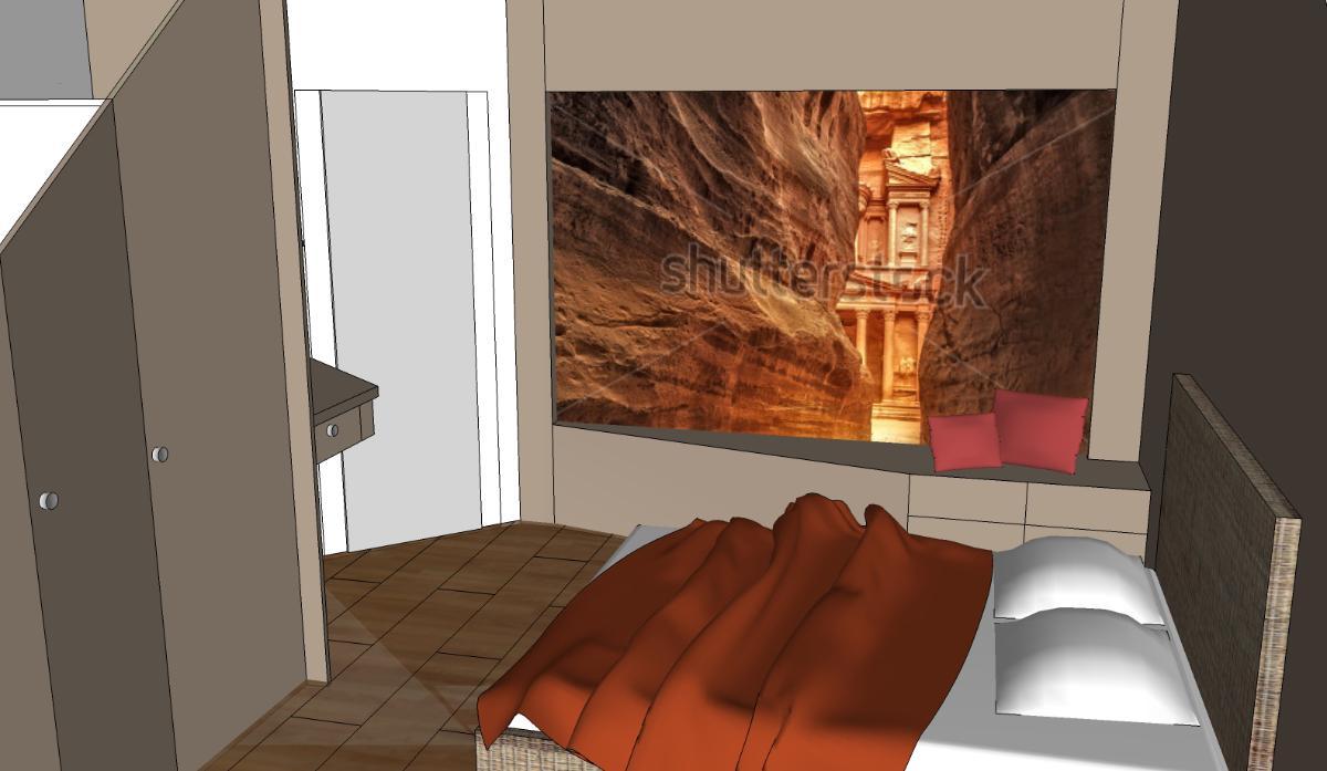 Conception d'une chambre avec impression sur panneau (projet en cours)