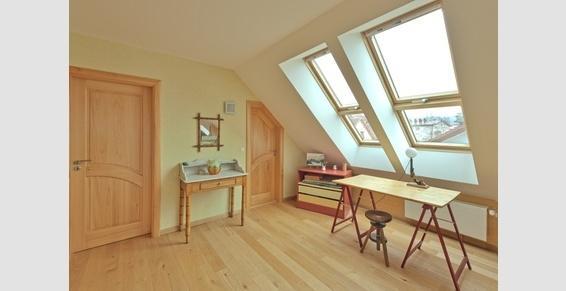 Ouverture d'une toiture pour profiter d'un nouvel espace