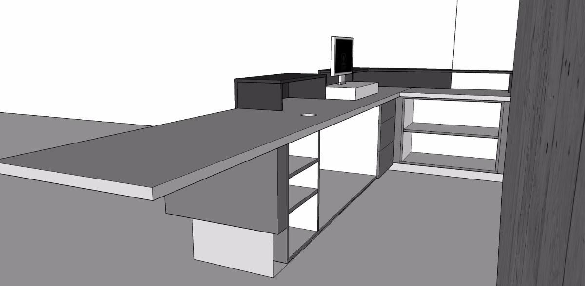 Elaboration du projet avec le client en 3D