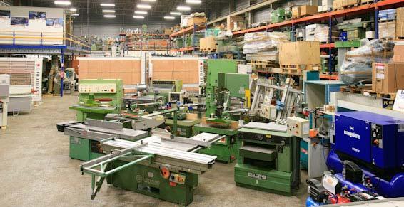 Machines à bois pro - Machines d'occasion et d'export