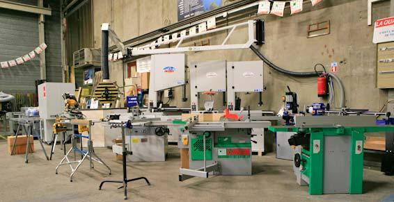 Machines à bois SCM - MINI MAX - CENTAURO - ASPIRATION