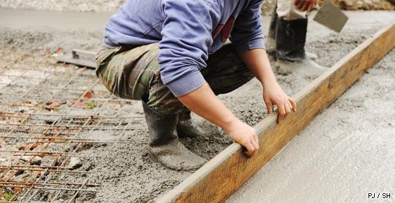 Entreprise de maçonnerie à Saran - Chape de béton