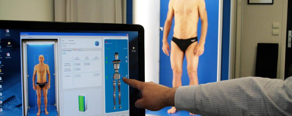 Avec l'€™analyse posturale en 3D, le Dr Di Mascio