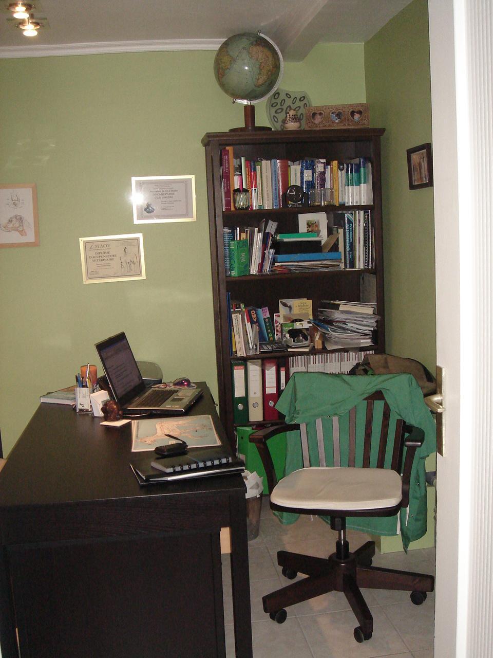 Bureau Cabinet vétérinaire Dr Anne Bardavid