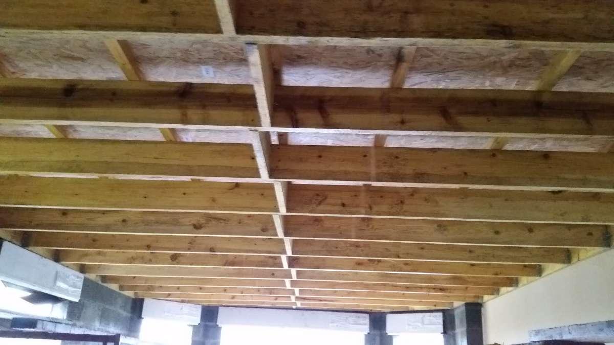 Charpente toit plat - MFDS Constructions