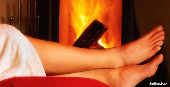 L'ambiance chaleureuse d'un feu de bois